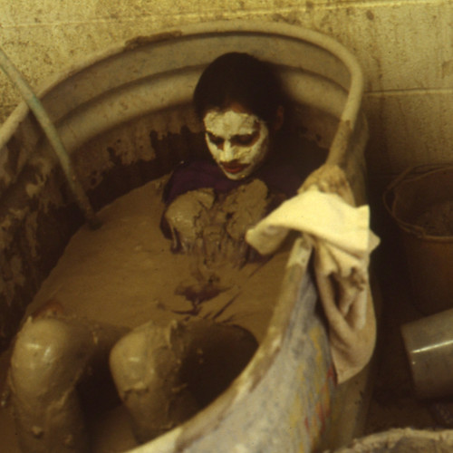 Performance in Clay Slip, Maryland Institute College of Art, 1981